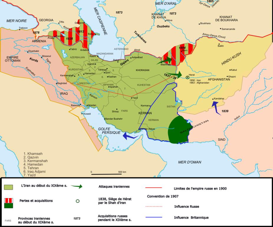 La Perse au XIXe siècle