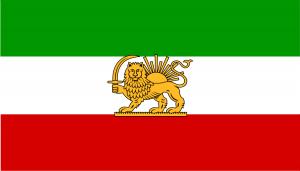 Drapeau de l'Iran (1964-1980)