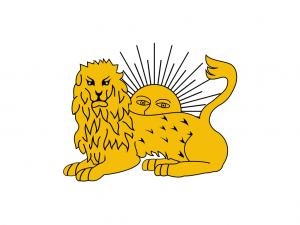 drapeau diplomatique de Fath Ali Shah (1797-1834)