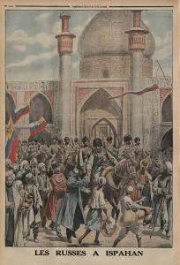 L'entrée des troupes russes à Ispahan