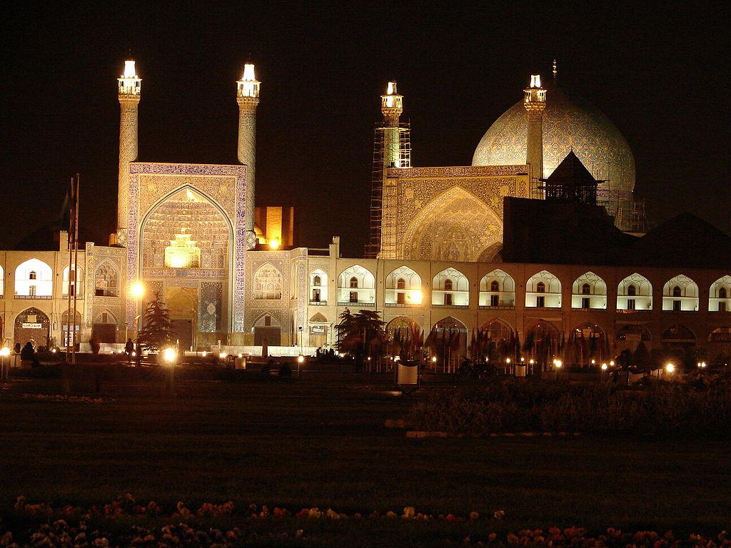 La mosquée du Shâh à Ispahan