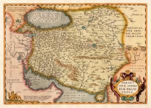 Carte de l'Iran du XVIe siècle