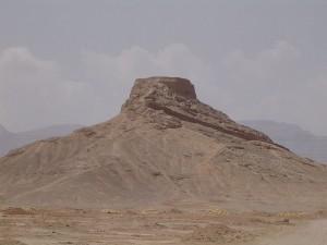 Tour du silence à l'extérieur de Yazd