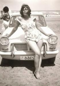 Une Iranienne en maillot de bain