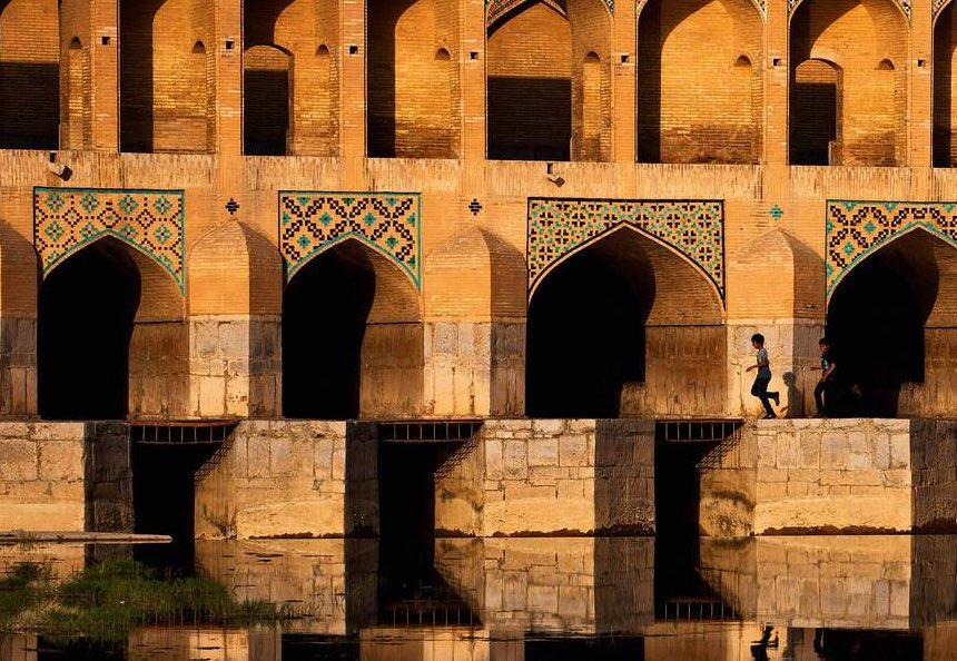 Le pont Khâdju