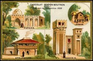 La Perse, exposition de 1889
