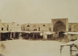 Bazar de Téhéran, 1848-1864.