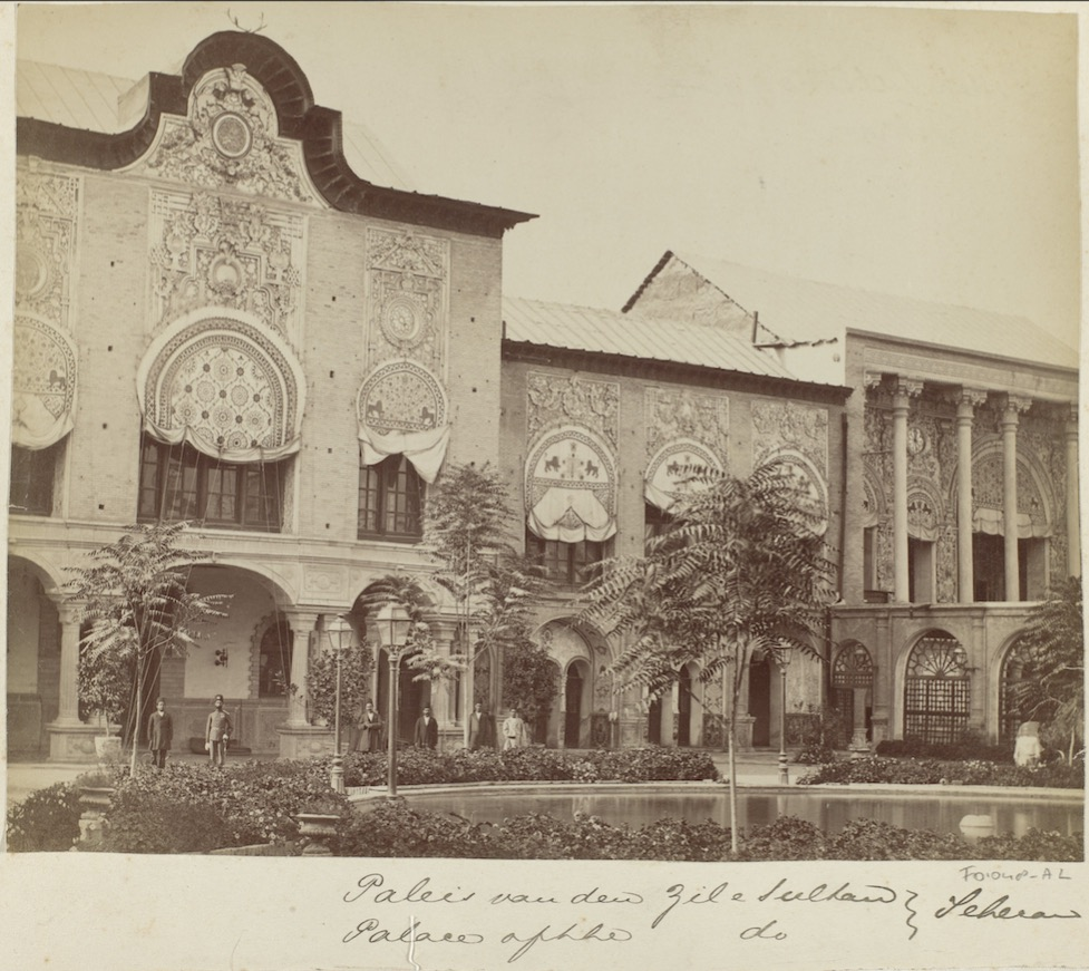 Palais du Golestan, 1880-1895 .
