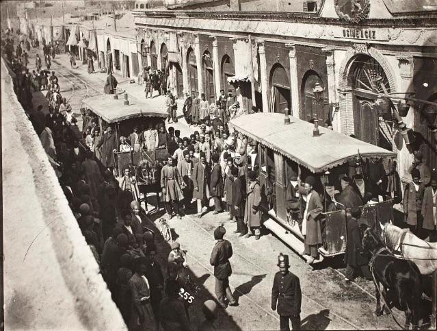 Rue du Gaz, 1880-1930.