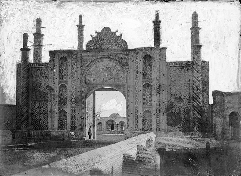 Darvaza Dawlat avant 1890.