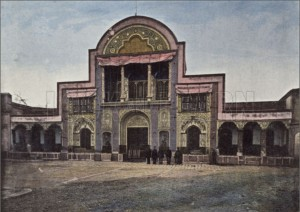 La porte des Diamants, 1900.