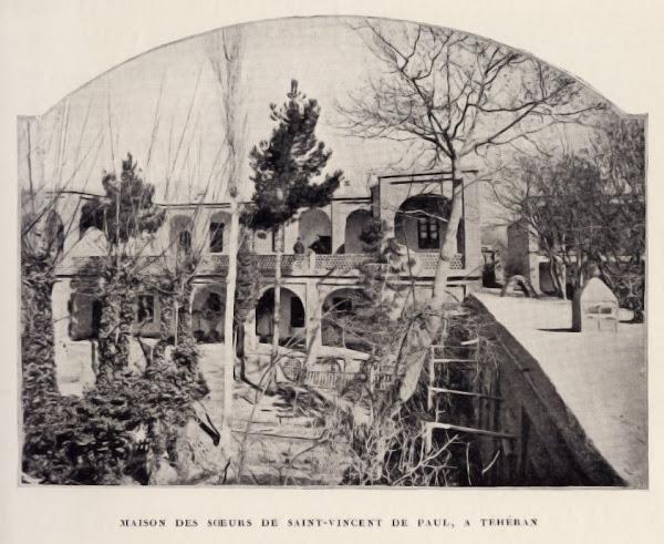 Maison des sœurs de saint-Vincent de Paul en 1903.