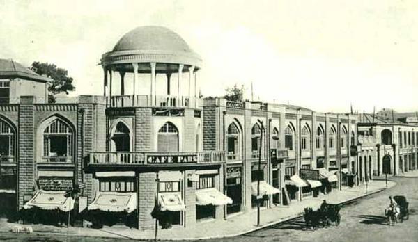 Café Pars Laleh-Zar, années 20.