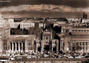 Téhéran dans les années 1950.