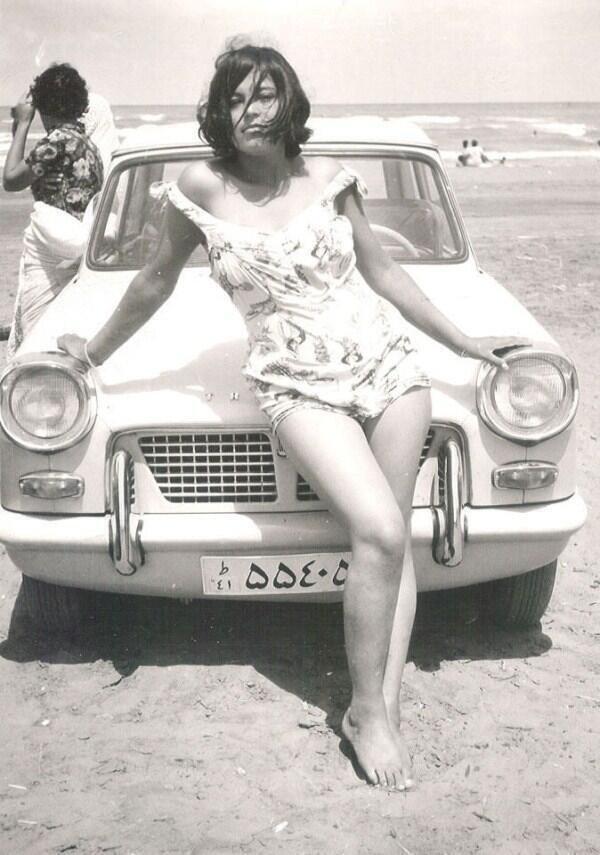 Une Iranienne en 1960