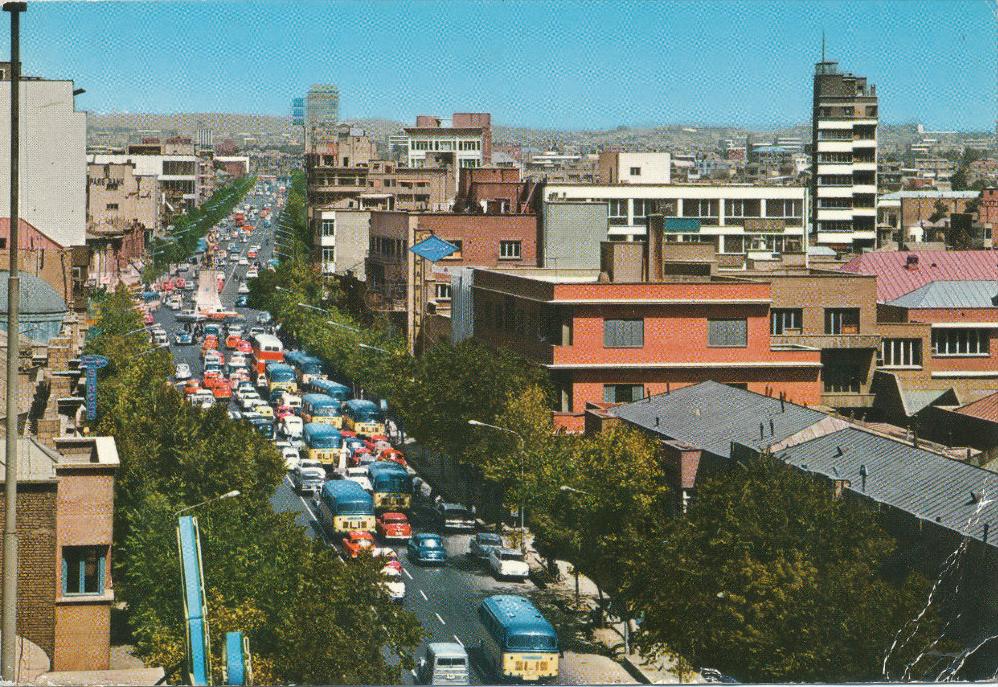 L'avenue Saadi, 1968