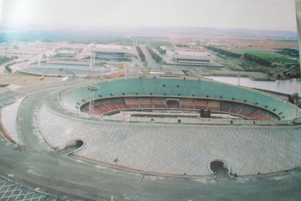 Stade Azadi, 1974