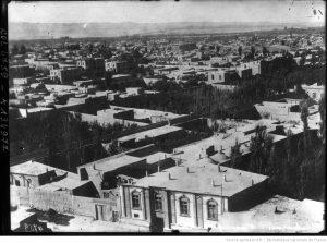Vue générale de Téhéran en 1909.
