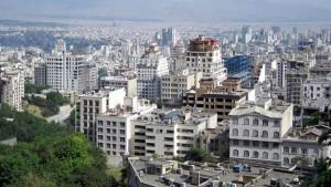 Vue de Téhéran