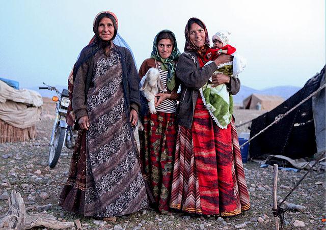 Femmes kachkaï dans la province de Fars.
