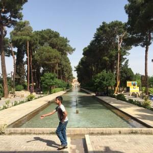 Le jardin de Dowlat Abad