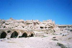 Ruines sassanides d'Izadkhast (2009).