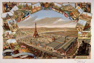 Vue générale de l'Exposition universelle de 1889.