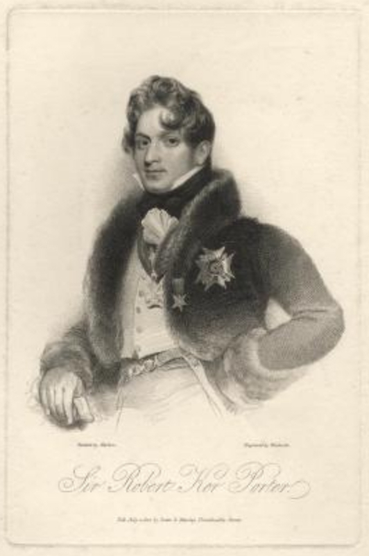 Portrait de Sir Robert Ker Porter (1822).