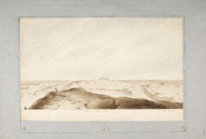 Panorama des ruines de Babylone. La célèbre ville est restée largement inconnue longtemps encore après la visite de Porter en 1818.