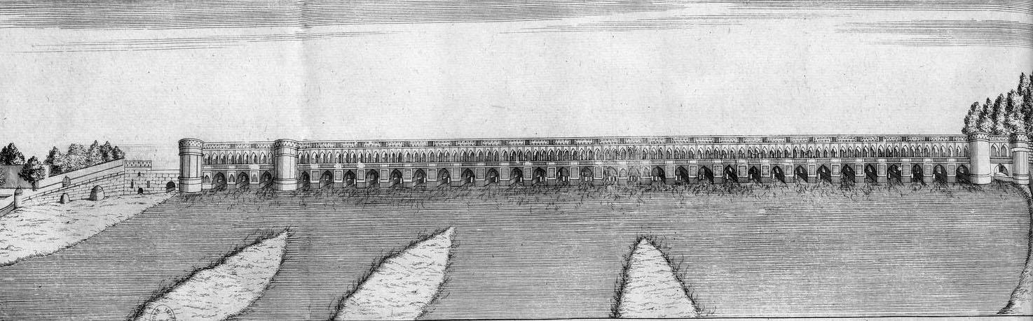 Le Si-o-se-Pol vers 1670.