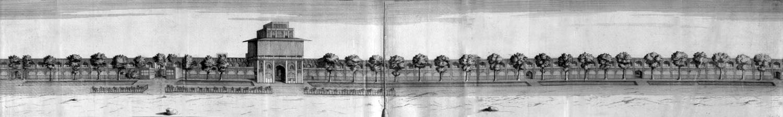Le Palais Ali Qapu en 1723.