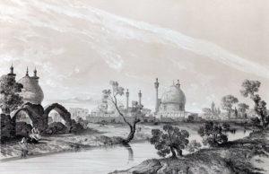 La mosquée du Shâh en 1840.