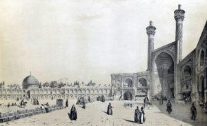 Entrée de la Grande Mosquée en 1840 .