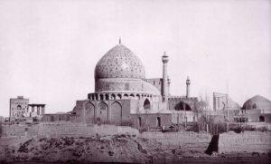 La mosquée du Shâh en 1873.