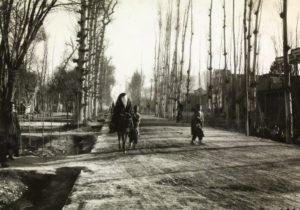 Rue d'Isfahan dans le quartier moderne (février 1925).