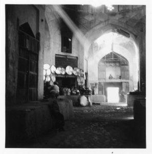 Bazar des orfèvres du cuivre, en 1935.