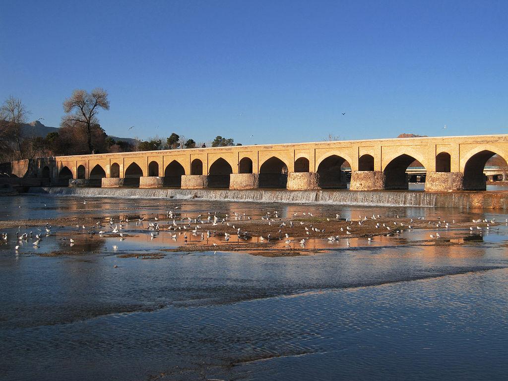 Le pont Mârmân en 2010.