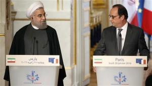 Rohani et Hollande