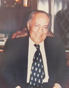 Habib Elghanian en 1972.