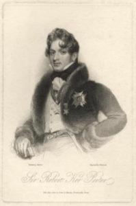 Portrait de Sir Robert Ker Porter (1822).