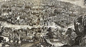 Vue d'Ispahan en 1646.