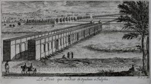Le pont reliant Ispahan à Julpha, en 1673.