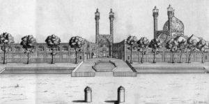 La mosquée du Shâh en 1723
