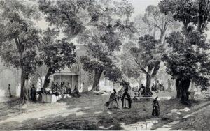 Le Char Bagh en 1840.