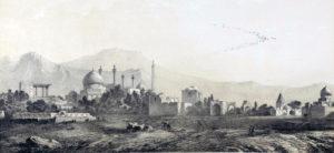 Vue d'Ispahan côté du sud (1840).