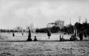 La Naqsh-e Jahân en 1901.