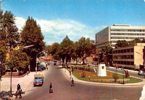 La place Ark dans les années 1960.